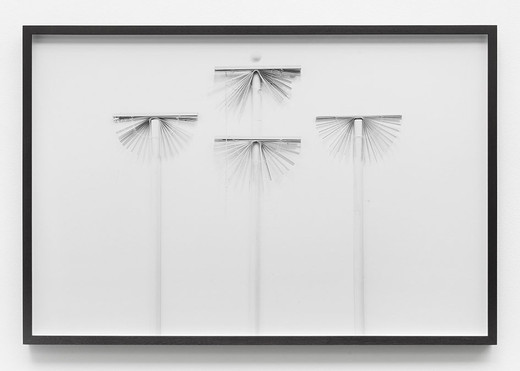 Lisa Lapinski, Untitled (ref 5), black and white photograph, framed, 2013, 67.3 x 101.6 cm, unique
