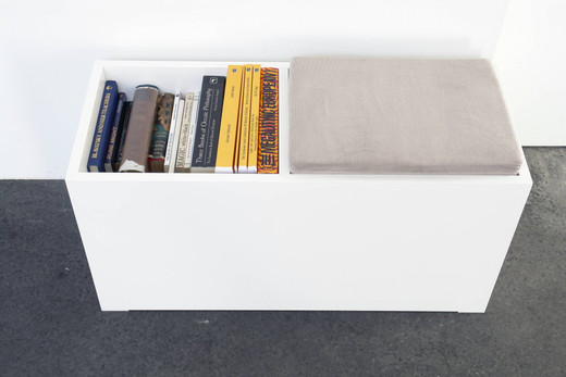 Blue Firth, Resource (2), in collaboration with Tomas Chaffe, 16 books, 2007, dimensions variable