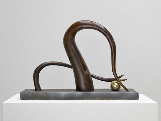 "<span class=""artists work-caption"">Camille Henrot</span><span class=""title work-caption"">Digging for gold on another planet (Desktop series)</span><span class=""technique work-caption"">bronze</span><span class=""year work-caption"">2014</span><span class=""dimensions work-caption"">50 x 73 x 20 cm</span><span class=""edition work-caption"">7/8 + 4AP</span>"