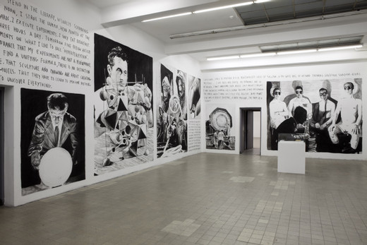 "<span class=""artists work-caption"">Rinus Van de Velde</span><span class=""title work-caption"">Smooth Structures AMSTERDAM: installation view wall drawings Smart Projects Space Amsterdam, 01</span><span class=""year work-caption"">2010</span>"
