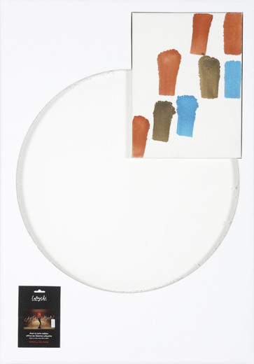 Will Benedict, Gallery Lafayette, foamcore, gouache, canvas, collage, 2008, 100 x 70 cm