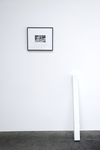 Johannes Wohnseifer, 24 h meter, black/white photography, casted aluminium, 2005, 8 x 7 x 100 cm, 1/3 + 2 AP