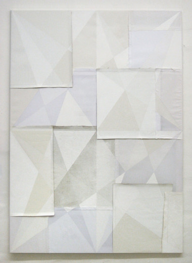 Alexander Wolff, o.T., acrylic, lacquer, cotton, canvas, 2008, 150 x 105 cm