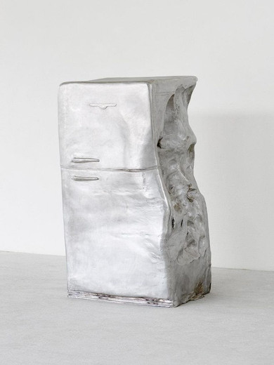 Erwin Wurm, Untitled, on aluminium, 2015, 155 x 90 x 90 cm, 1/5