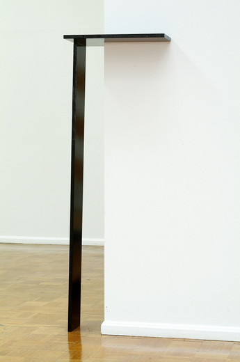 Michaela Meise, Untitled, block board,synthetic resin lacquer, 2003, 132 x 28.5 x 44 cm