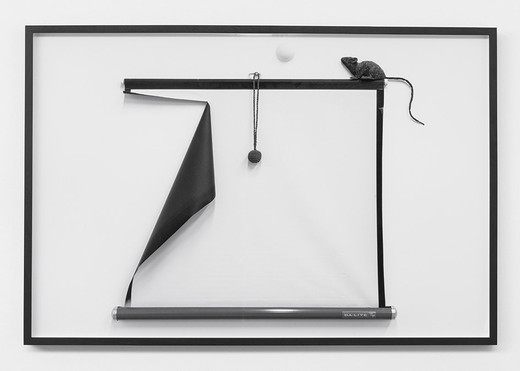 Lisa Lapinski, Untitled (ref 4), black and white photograph, framed, 2013, 81.3 x 122 cm, unique