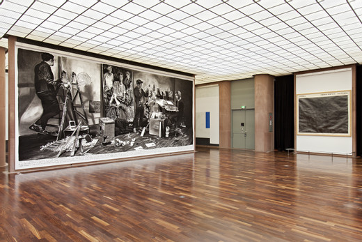 "<span class=""artists work-caption"">Rinus Van de Velde</span><span class=""title work-caption"">installation view walldrawing at Kunsthalle Bielefeld</span><span class=""year work-caption"">2013</span>"