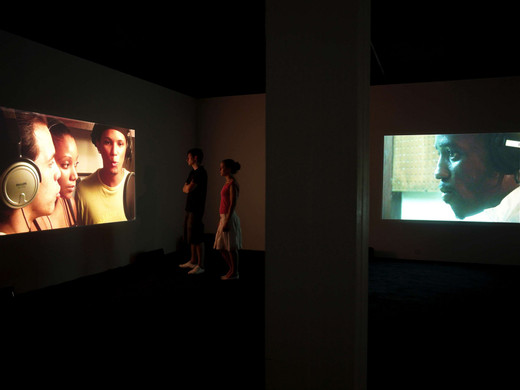 David Zink Yi, Horror Vacui, two channel video, 2009, 1/5 + 2 AP