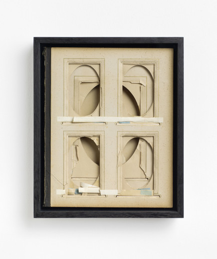 Kris Martin, Album, found album, framed, 2016, 25.7 x 19.6 x 4.5 cm, unique