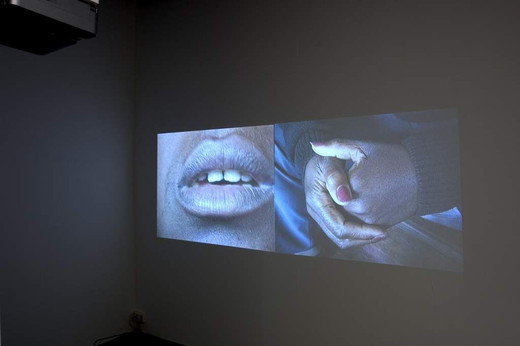 David Zink Yi, El Festejo, two-channel video installation, 2001, 30 x 20 x 15 cm, AP II/II+ 5