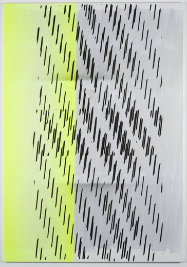 Nathan Hylden, Untitled, acrylic on linen, 2008, 171.45 x 119.38 cm, unique