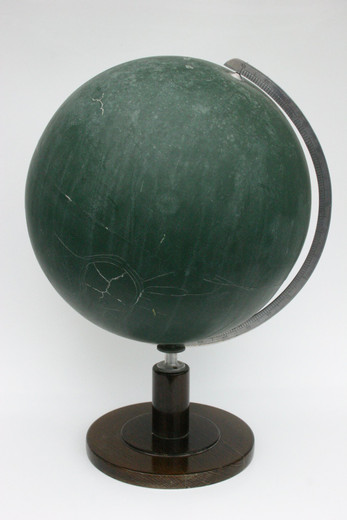 Kris Martin, Globus, found object ( old school globe ), 2006, h = 50,  Ø 32 cm, unique