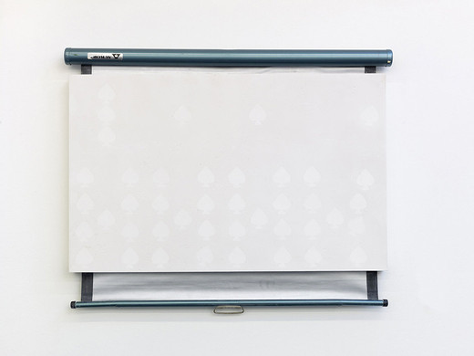 Lisa Lapinski, Untitled (ref screen 5), plaster, wood, metal, 2013, 89 x 106.5 x 5.5 cm, unique