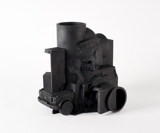 Johannes Wohnseifer, All the sculptures of a year (2017), bronze, patinated, 2018, 27.5 x 27.5 x 27.5 cm, 1/3 + 1AP