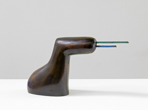 "<span class=""artists work-caption"">Camille Henrot</span><span class=""title work-caption"">Self Organizing</span><span class=""technique work-caption"">bronze</span><span class=""year work-caption"">2014</span><span class=""dimensions work-caption"">20 x 38 x 9 cm</span><span class=""edition work-caption"">2/8 + 4AP</span>"