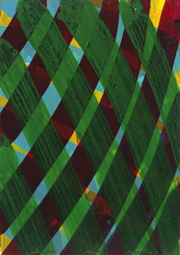 Katharina Grosse, o.T., acrylic on paper, 2006, 99.5 x 70.5 cm
