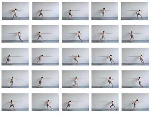 Mathieu Bonardet, Untitled (lines), 25 photographs, 2011, each 37 x 55 cm, Edition 1/5 + 2AP
