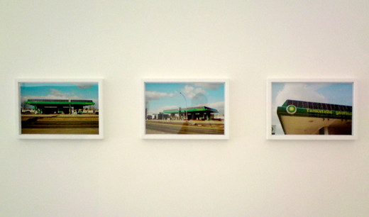 Tue Greenfort, BP Green-washed, three c-print, framed, 2006 - 2010, 29.5 x 43 cm, 1/5 + 2 AP