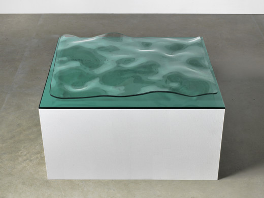 Tue Greenfort, Seascape, Glas, 2017, unique