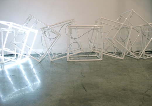 "<span class=""artists work-caption"">Jeppe Hein</span><span class=""title work-caption"">Inbetween two walls</span><span class=""technique work-caption"">Neonröhren, Transformatoren</span><span class=""year work-caption"">2006</span><span class=""dimensions work-caption"">70 x 475 x 50 cm</span><span class=""edition work-caption"">3/3 + 2 AP</span>"
