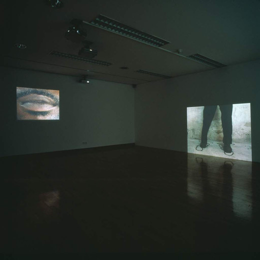 David Zink Yi, De adentro y afuera, three channel video, 2002, 0 x 0 x 0 cm dimensions variable, 5/5 + 2AP