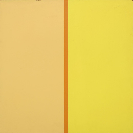 Poul Gernes, Untitled, lacquer on masonite board, 1968 - 1970, 90 x 90 x 3 cm