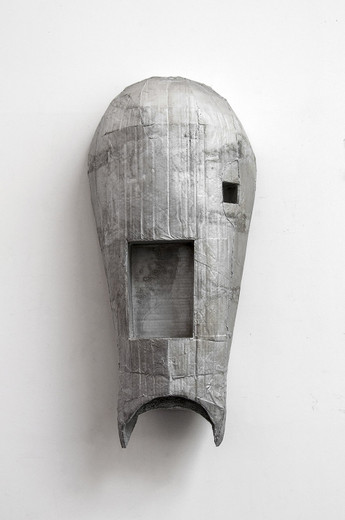 Michael Sailstorfer, M.9, casted aluminium, 2015, 84 x 39 x 23 cm, unique