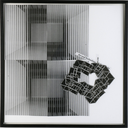 , Untitled, collage, 2004, 50 x 50 cm