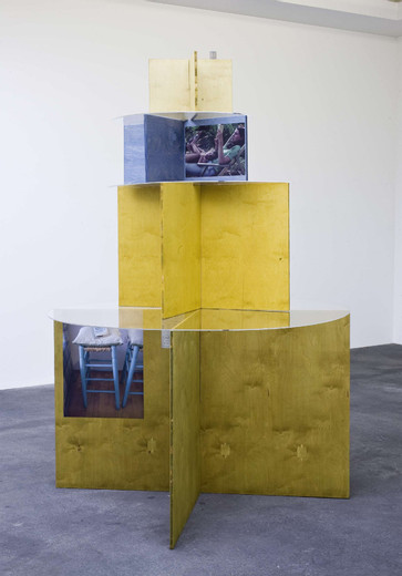 "<span class=""artists work-caption"">Michaela Meise</span><span class=""title work-caption"">Tour de Lecture</span><span class=""technique work-caption"">wood, Plexiglas, paper, book</span><span class=""year work-caption"">2010</span><span class=""dimensions work-caption"">240 x 120 cm</span><span class=""edition work-caption"">unique</span>"