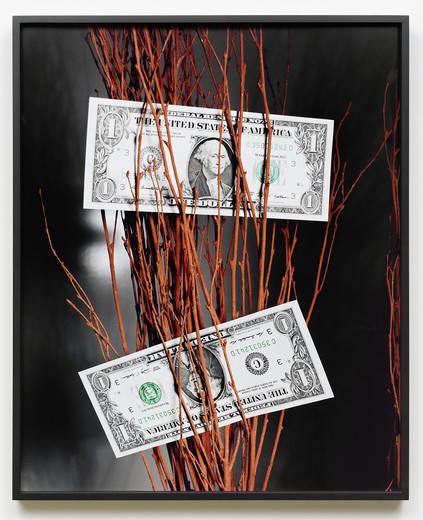 Annette Kelm, Two Dollar / Night, c-print, framed, 2016, 70 x 57 cm, 1/6 + 2 AP