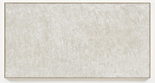 Navid Nuur, Untitled, linen, Gesso, 2015, 200 x 387 x 4 cm, unique