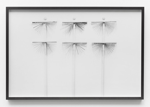 Lisa Lapinski, Untitled (ref 6), black and white photograph, framed, 2013, 67.3 x 101.6 cm, unique