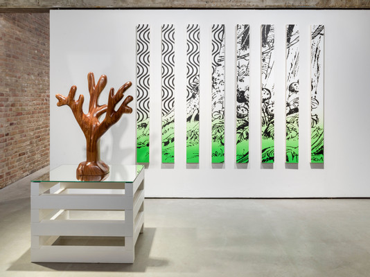 2021_Claudia Comte_Jungle and Corals_KOENIG GALERIE Chapel_exhibiton view by Roman Maerz (7)