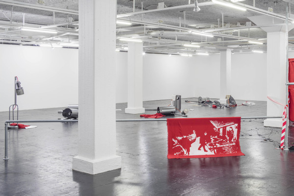 Installation View, Fuel to the Fire, Tensta Konsthall, 2016