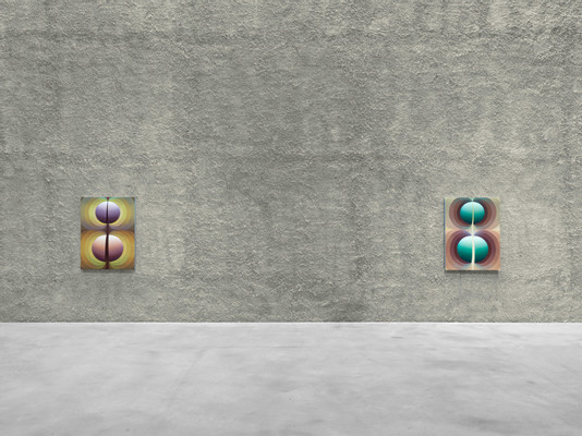 Loie Hollowell, Sacred Contract, KOENIG GALERIE   Nave, Berlin, Germany, 2021, installation view by Roman März