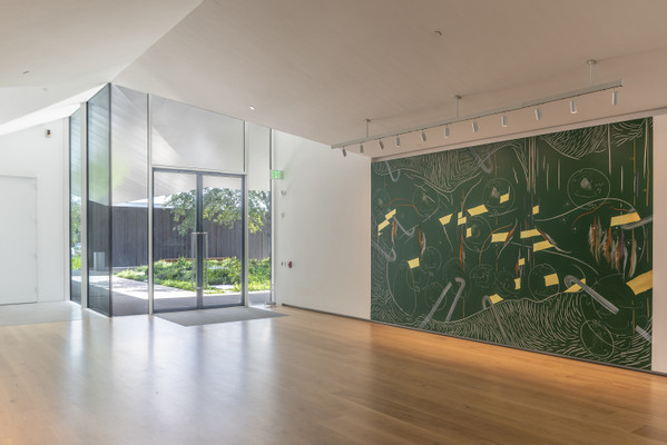 2019, Jorinde Voigt, The Menil Collection, exhibition view by Paul Hester