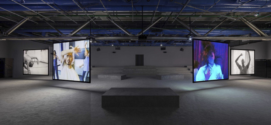 Jeremy Shaw - Phase Shifting Index, Centre Pompidou, Paris, France, installation view by Timo Ohler
