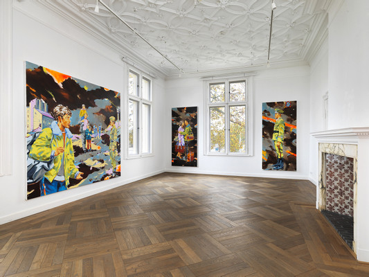 2019_Nobert Bisky_RANT_Villa Schlöningen_Potsdam_exhibition view by Bernd Borchardt (4)_low