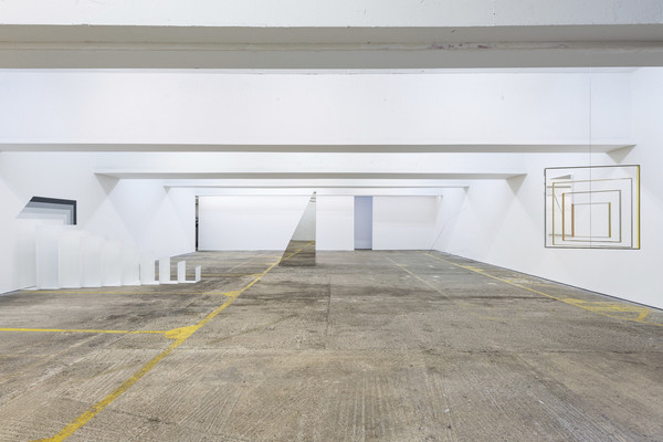 installation view, photo by Damian Griffith