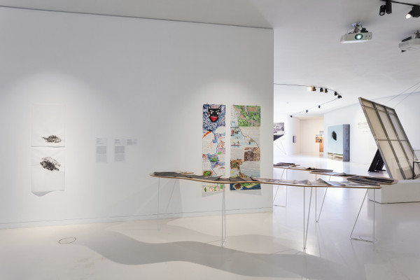 Installation View, Tue Greenfort, Eco Visionaries Art and Architecture After The Antropocene; Courtesy of EDP Foundation©Bruno Lopes