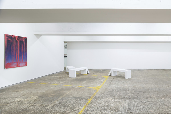 Robert Janitz, Change in Paradise, 2019, installation view, photo by Damian Griffiths