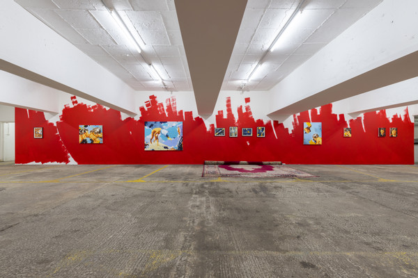 installation view, photo by Damian Griffiths