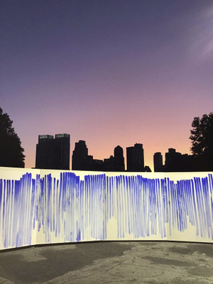 Jeppe Hein, Breath with Me, UN Headquarters and Central Park, New York, USA