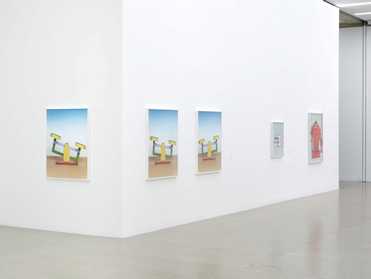 Objects Recognized in Flashes, Museum für Moderne Kunst Wien, exhibition view by Annette Kelm